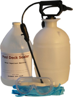 Pool Deck Sealer KIT