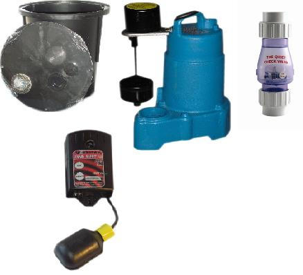 Sump Pump and Pit KIT 2