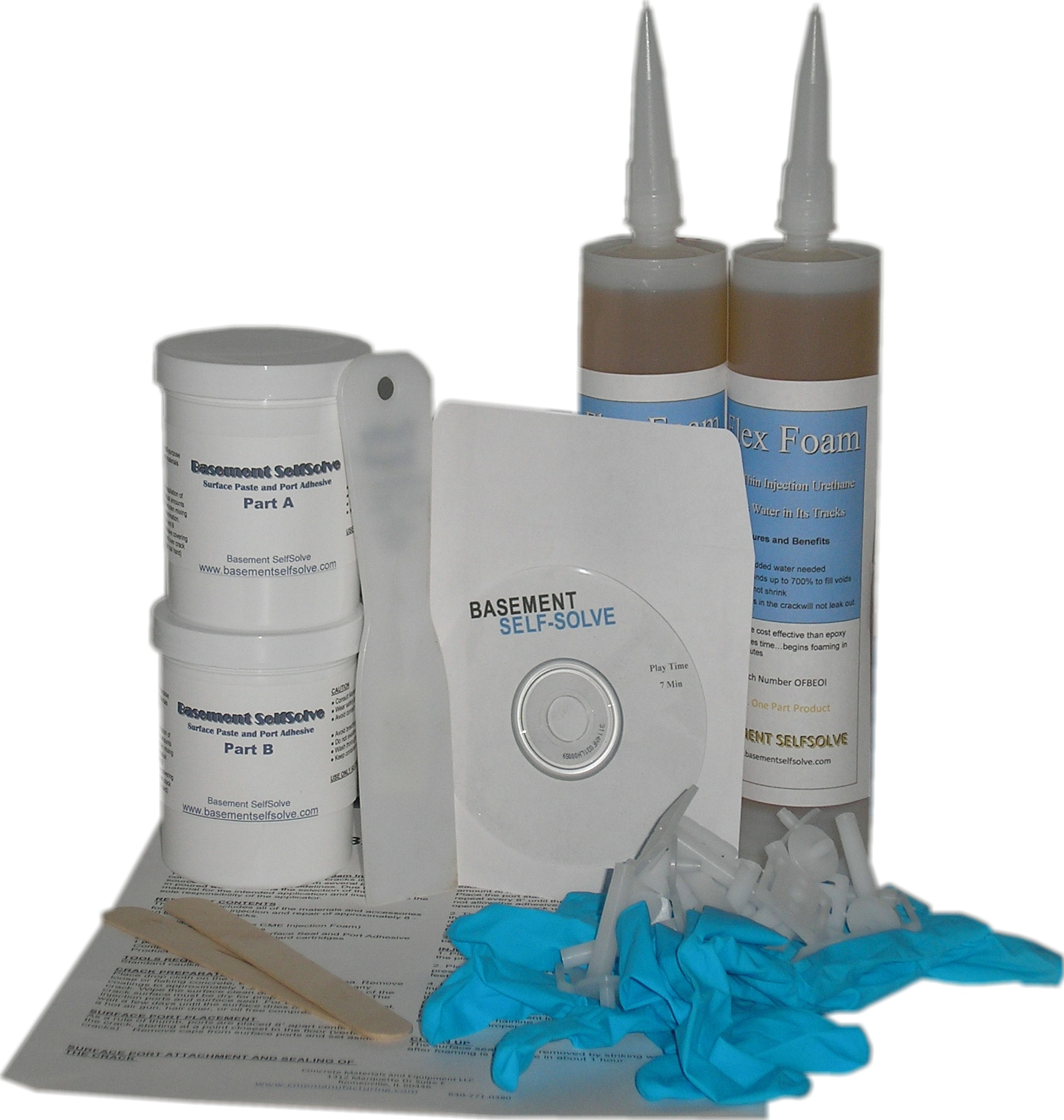 Epoxy Injection Wall Crack Repair Kit By BSS